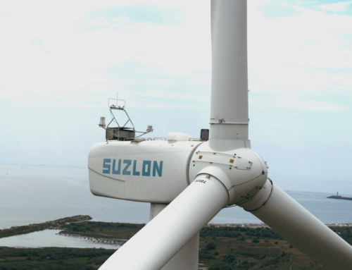 Drone solution for inspection of wind turbines