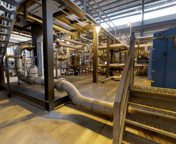 3D Space Oil facility from Matterport