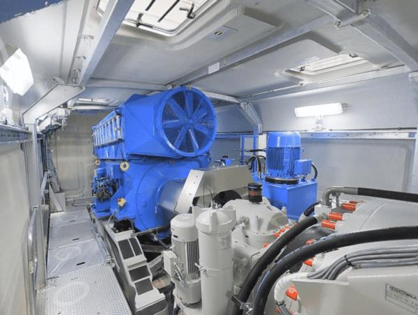 Wind Turbine interior from Matterport