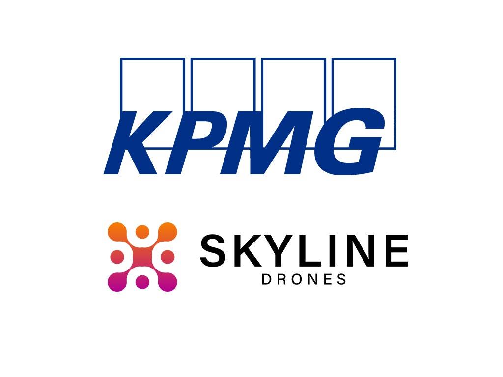 kpmg partners skyline drones